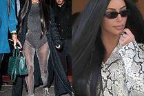 Kim Kardashian straszy wyczuciem stylu na ulicach Paryża