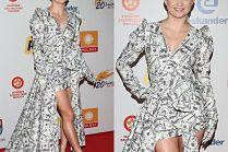 Margaret zrobiła sobie sukienkę z wypłaty?