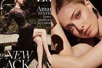 Poważna Amanda Seyfried pozuje w mrocznych stylizacjach