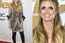 Odstawiona Heidi Klum w sukience za 24 tysiące
