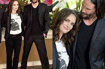 Rozmarzona Winona Ryder wtula się w Keanu Reevesa...