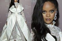 """Anielska Rihanna w """"oryginalnej"""" kreacji na zorganizowanej przez siebie imprezie"""