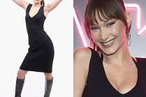 """Naturalna"" Bella Hadid świętuje swój debiut w roli projektantki"