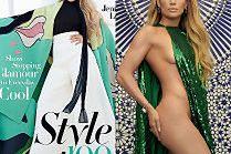 Gładka Jennifer Lopez wymachuje peleryną na nowej okładce
