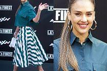 Modna Jessica Alba chwali się stylizacją za ponad 30 tysięcy złotych