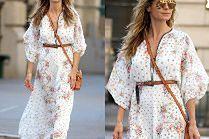 Zrelaksowana Heidi Klum w sukni boho za prawie 7 tysięcy
