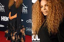 52-letnia Janet Jackson z burzą loków na głowie w kolejnej dziwacznej kreacji