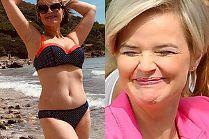 """Monika Zamachowska w bikini pozdrawia z wakacji: """"Trochę TŁUSTAWA, ale szczęśliwa"""""""