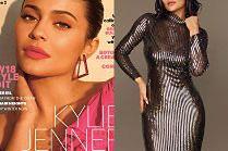 """Odessane usta Kylie Jenner kuszą czytelników """"Glamoura"""""""