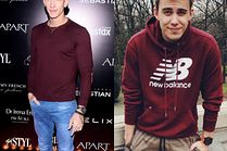 Z czym celebryci łączą bordową bluzę?