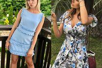 Sukienki mini na wesele inspirowane stylem gwiazd