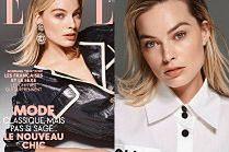Naturalna Margot Robbie spogląda z francuskiej okładki
