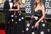 Zadowolona Heidi Klum pozuje w rozłożystej kreacji za 45 tysięcy