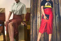 Elegancka spódnica z rozcięciem - z czym ją nosić?