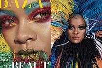 """Rihanna udaje rajskiego ptaka w sesji dla """"Harper's Bazaar"""""""