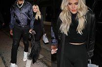Rozanielona Khloe Kardashian zmierza na mecz w towarzystwie niewiernego ukochanego