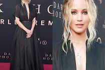 Jennifer Lawrence świętuje premierę w ponurej sukni od Diora
