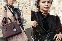 "Selena Gomez promuje ubrania i torebki ""własnego"" projektu"