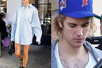 Justin Bieber i jego małżonka (?) piją kawę w stylizacjach na kloszardów