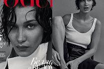 """Odmieniona Bella Hadid """"w męskim wydaniu"""" pozuje dla rosyjskiego """"Vogue'a"""""""