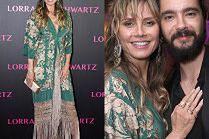 Wystrojona Heidi Klum zabrała narzeczonego na imprezę biżuterii