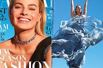 """Uśmiechnięta Margot Robbie powraca na okładce """"Harper's Bazaar"""""""