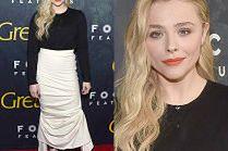 Zgrabna Chloe Grace Moretz pozuje na premierze horroru