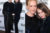 Spocona Uma Thurman bawi się z 20-letnią córką w Nowym Jorku