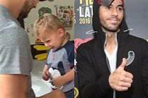 Enrique Iglesias dokazuje z dziećmi na Instagramie. Jak dziś wyglądają mali Nicolas i Lucy? (WIDEO)