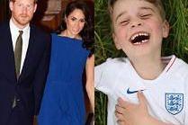 Meghan Markle i książę Harry znów w centrum skandalu. Poszło o... życzenia dla księcia George'a!