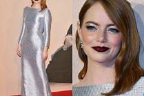 Emma Stone w stylizacji rodem ze Złotej Ery Hollywood