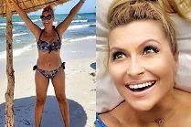 Katarzyna Skrzynecka w bikini chwali się efektami diety. Cały czas chudnie (FOTO)