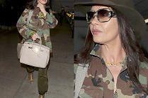 """""""Modna"""" Catherine Zeta-Jones wymachuje torebką za 40 tysięcy"""