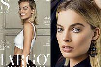 Hollywoodzki uśmiech Margot Robbie na nowej okładce