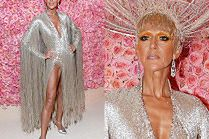 Gala MET 2019: Celine Dion ryzykuje wpadkę w sukience eksponującej pachwinę