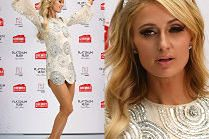 Paris Hilton tańczy z flakonem na ściance w Australii...