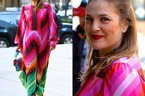 Drew Barrymore zadaje szyku w tęczowej stylizacji od Valentino