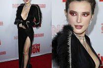 """Przerażająca Bella Thorne """"szczuje biustem"""" na premierze filmu"""