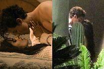 Shawn Mendes i Camila Cabello całują się za kaktusem!