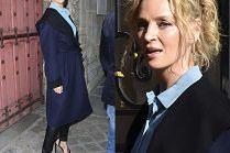 Uma Thurman też poleciała na paryski tydzień mody