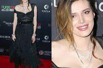 Zmęczona Bella Thorne snuje się po festiwalu filmowym