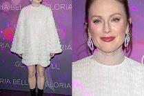 Julianne Moore odsłania nogi w workowatej kreacji od Valentino