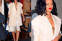 Coraz szczuplejsza Rihanna chwali się torebką Fendi za 90 tysięcy
