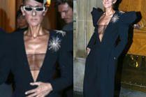 Celine Dion w stroju bogatej wdowy lansuje się z młodym przystojniakiem u boku