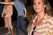 Maślane oczy Heidi Klum po randce z gitarzystą Tokio Hotel...