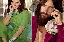 Zamyśleni Jared Leto i Lana Del Rey zachęcają do zakupu perfum