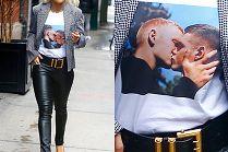 Tolerancyjna Rita Ora przemierza Nowy Jork w t-shircie z całującymi się mężczyznami