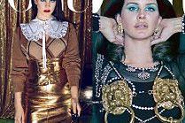 """Przejęta Lana Del Rey promuje tomik poezji na okładce """"Vogue'a"""""""