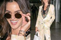 Cannes 2019: Barokowa Izabel Goulart chwali się na lotnisku torebką Valentino za 11 tysięcy