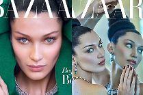 """Hipnotyzujące oczy Belli Hadid na arabskiej okładce """"Harper's Bazaar"""""""